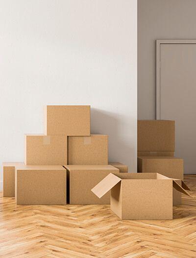 Mudanzas Hércules - Cajas de cartón