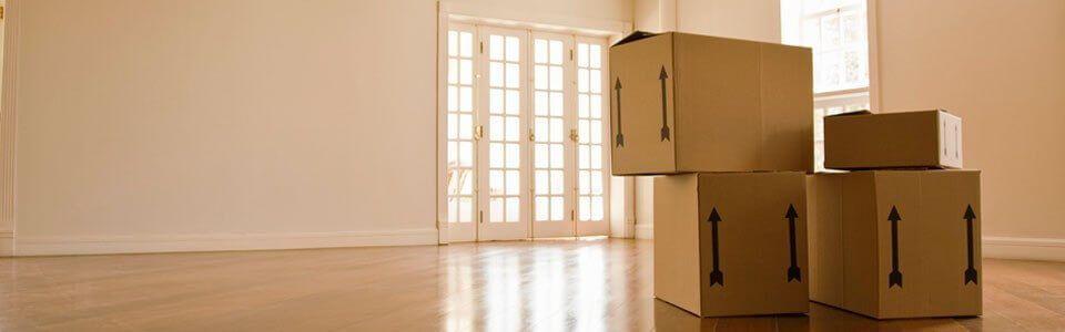 Mudanzas Hércules - Cajas de mudanzas al interior de casa