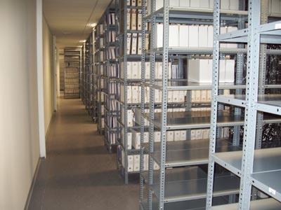 Mudanzas Hércules - almacén para archivos