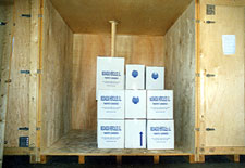 Mudanzas Hércules - almacenaje de madera