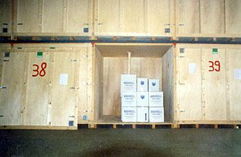 Mudanzas Hércules - almacenaje de madera 2
