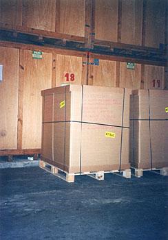 Mudanzas Hércules - caja de madera