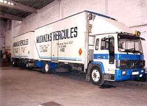 Mudanzas Hércules - Ofrecemos transportes locales, nacionales e internacionales